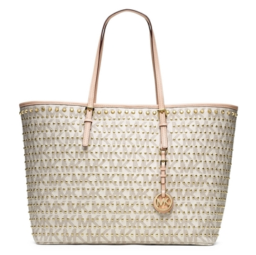 Picture of MICHAEL Michael Kors Medium Jet Set Travel Studded Tote