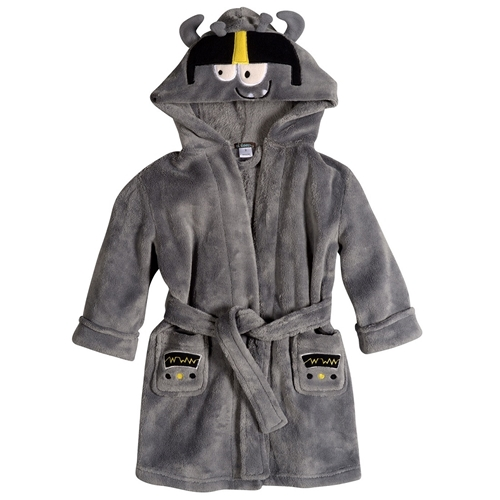 Picture of Petit Lem Plush Hooded Robe Monster