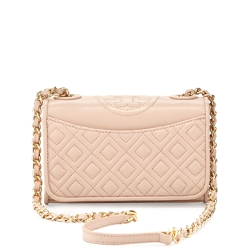 Picture of Tory Burch Fleming Quilted Mini Flap Shoulder Bag