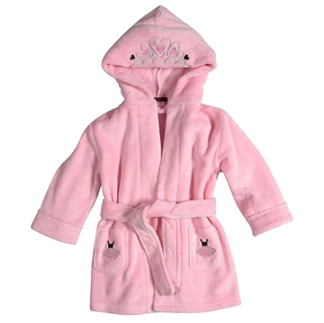 Picture of Petit Lem Plush Hooded Robe Ballerina