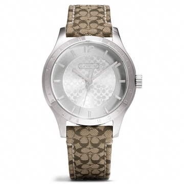Picture of COACH Maddy Stainless Steel Signature Strap Watch