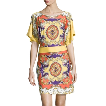 Picture of BCBG Max Azria Dolman-Sleeve Kimono Dress
