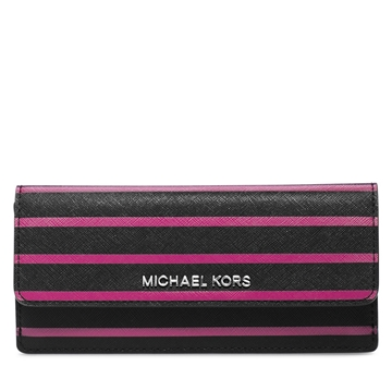 Picture of MICHAEL Michael Kors Florence Stripe Saffiano Leather Wallet