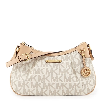 Picture of MICHAEL Michael Kors Jet Set Signature Medium Shoulder Bag