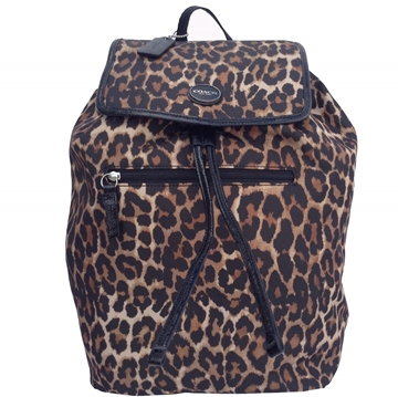 Picture of COACH Getaway Ocelot Print Backpack
