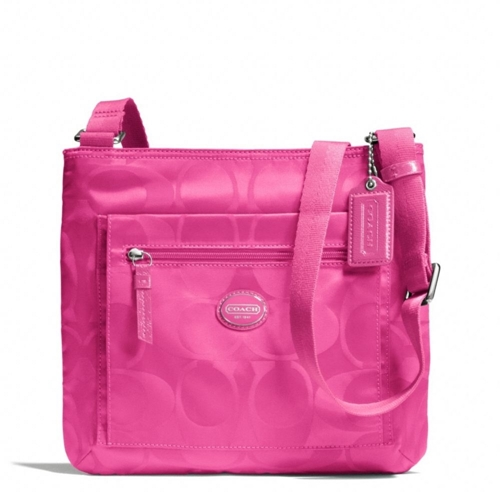 Picture of COACH Getaway Signature Nylon File Bag