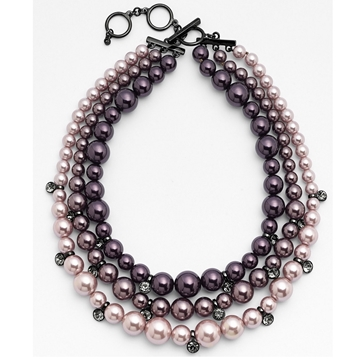 Picture of Givenchy Faux Pearl Multi-strand Necklace