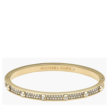 Picture of MICHAEL Michael Kors Heritage Astor Pavé Hinge Bangle