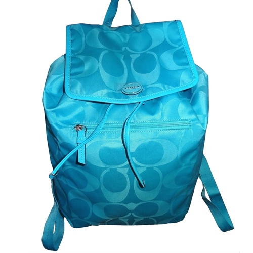 Picture of COACH Getaway Signature Nylon Backpack
