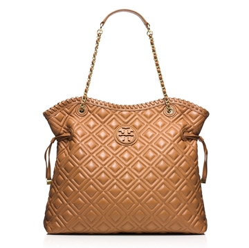 Picture of Tory Burch Marion Quilted Slouchy Tote
