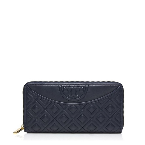 Picture of Tory Burch Fleming Flat Zip Continental Wallet