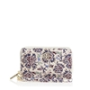 Picture of Tory Burch Robinson Printed Smartphone Wristlet Voyage Floral