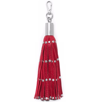 Picture of MICHAEL Michael Kors Key Charms Studded Tassel Key Fob