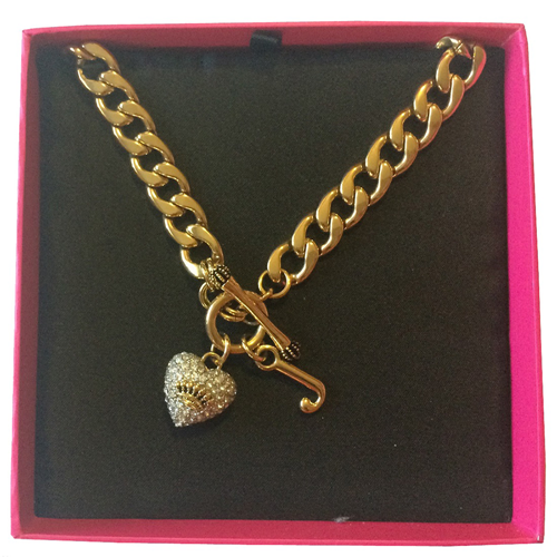 Picture of Juicy Couture Pave Crown Starter Necklace