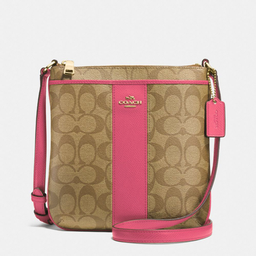 Picture of COACH Signature PVC Leather NS Crossbody