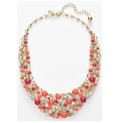 Picture of kate spade new york 'bashful blossom' bib necklace