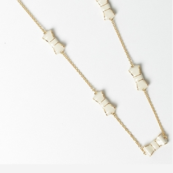 Picture of kate spade new york take a bow necklace