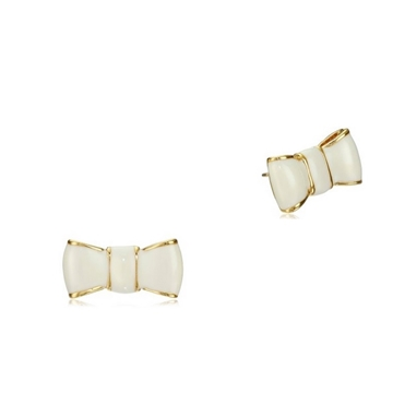 Picture of kate spade new york take a bow earrings - cream