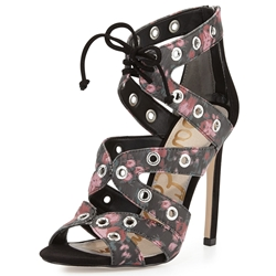 Picture of Sam Edelman Phoebe Floral-Print Strappy Sandal