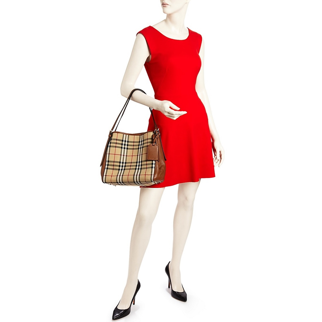Picture of burberry horseferry check small canterbury panels tote jpg  1100x1100 Canterbury small shoulder tote beb8dc6bdd80a
