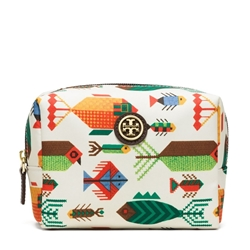 Picture of Tory Burch Brigitte Cosmetic Bag - Fish Multi