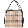 Picture of Burberry Haymarket Knots Small Canterbury Panels Tote