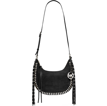 Picture of MICHAEL Michael Kors Rhea Grommet Studded Small Slouchy Shoulder